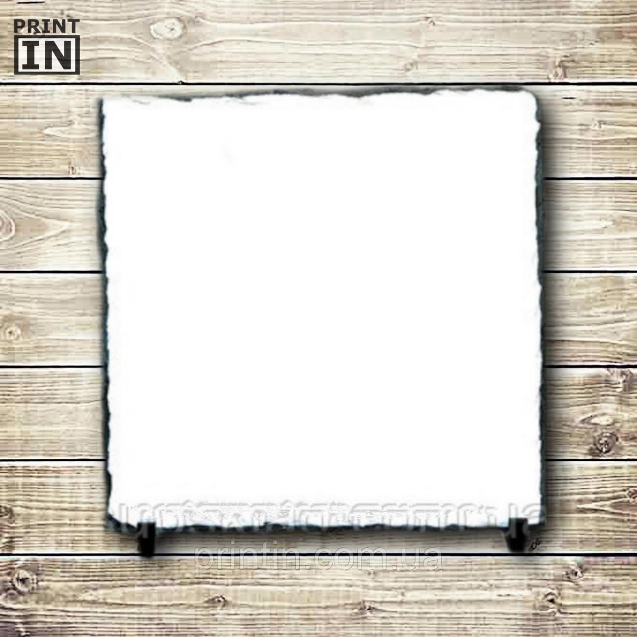 Печать на каменной рамке (квадрат 30х30см)
