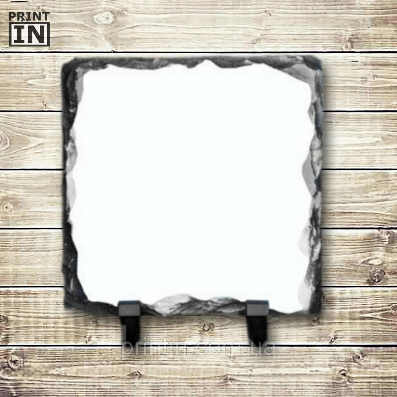 Печать на каменной рамке (квадрат 15х15см)