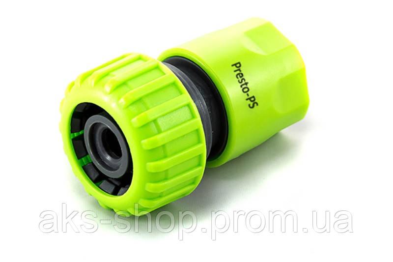 Конектор Presto-PS для шланга 3/4 дюйма без аквастопа, в упаковці - 25 шт. (5819G)