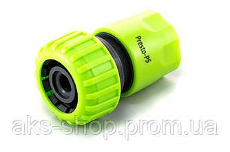 Коннектор Presto-PS для шланга 3/4 дюйма без аквастопа, в упаковке - 25 шт. (5819G)