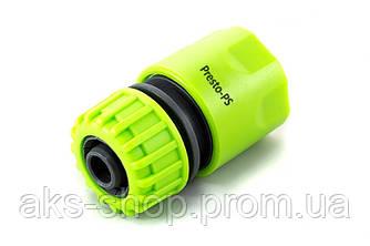 Коннектор Presto-PS для шланга 1/2-5/8 дюйма без аквастопа, в упаковке - 25 шт. (5809G)