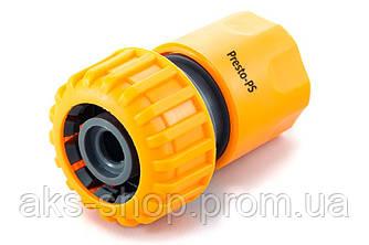 Коннектор Presto-PS для шланга 3/4 дюйма без аквастопа, в упаковке - 25 шт. (5819)