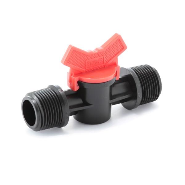 Кран шаровый Presto-PS с наружной резьбой 3/4 дюйма, в упаковке - 10 шт. (MM-0134)