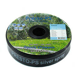 Шланг туман Presto-PS стрічка Silver Spray довжина 100 м, ширина поливу 10 м, діаметр 50 мм, в упаковці - 1