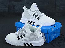 Женские кроссовки Adidas EQT Basketball Adv White Black BD7772, фото 2