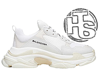 Женские кроссовки Balenciaga Triple S Trainers White 505113443