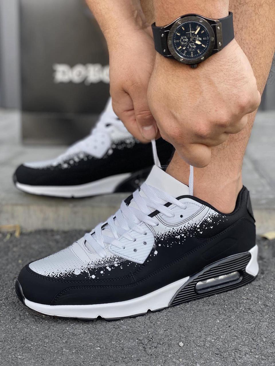 Мужские кроссовки в стиле Nike Air Max 90 обувь мужская демисезонная Размеры 43,45