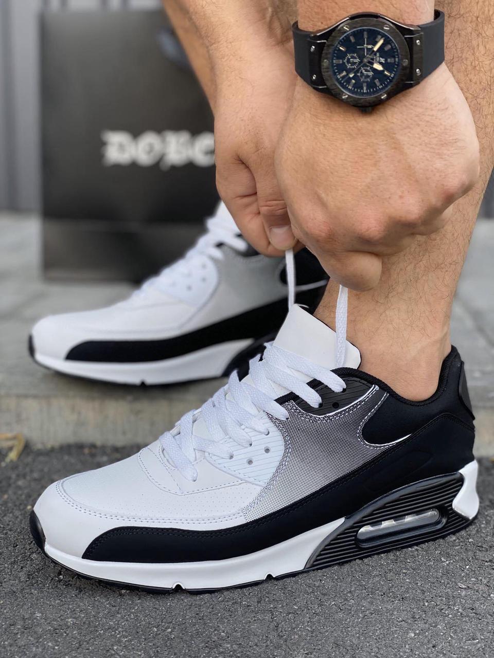 Мужские кроссовки в стиле Nike Air Max 90 обувь мужская демисезонная обувь Размеры 40,43,44,45
