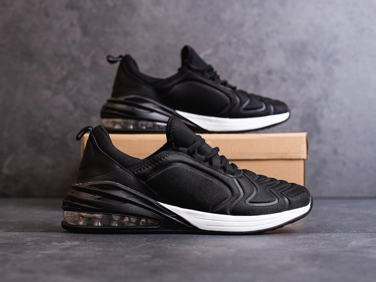 Мужские черные кроссовки в стиле Nike Air Max 270 обувь мужская демисезонная