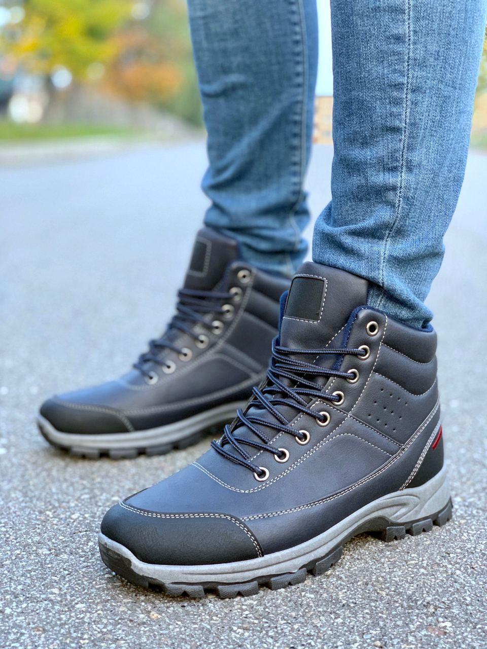 Мужские Ботинки Еврозима Мужская Обувь Размеры 41,42,43,44,45