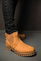 Мужские Зимние Ботинки на Меху Челси Размеры 40, фото 1