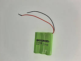 Аккумулятор для детских игрушек Ni-MH, 3.6V 1500mAh Bossman-Profi T-110
