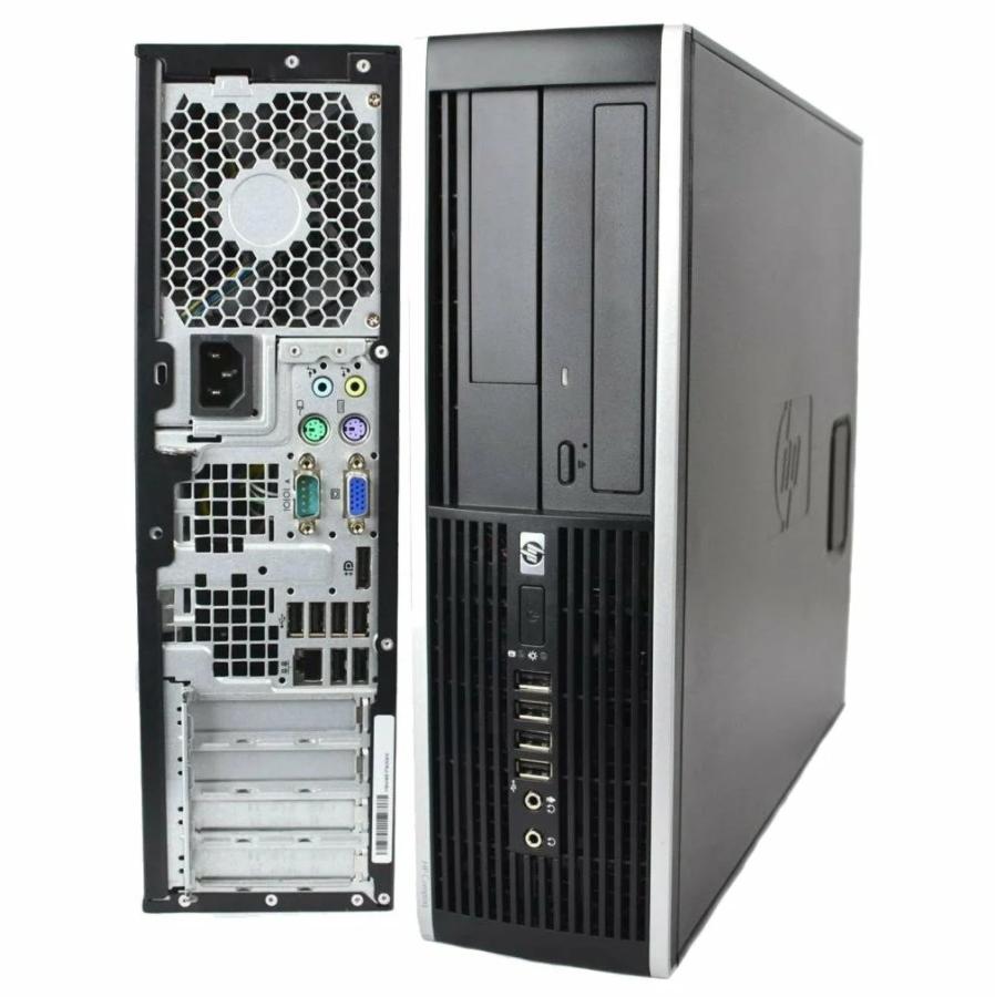 Системный блок HP Compag 8000 Elite-SFF-Intel Pentium E5300-3,60GHz-4Gb-DDR3-HDD-160Gb-DVD-R-(B)- Б/У