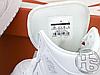 Мужские кроссовки Air Jordan 1 Mid Triple White 554724-109, фото 3