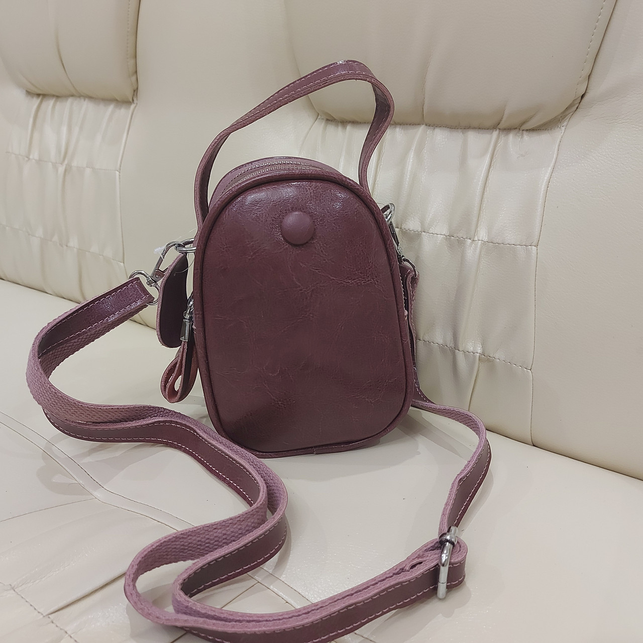 Модная женская кожаная сумка клатч cameo