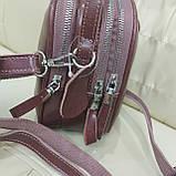 Модная женская кожаная сумка клатч cameo, фото 4