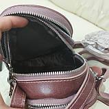 Модная женская кожаная сумка клатч cameo, фото 5