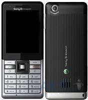 Корпус Sony Ericsson J105 Black