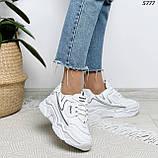 Кроссовки женские белые 5777, фото 5