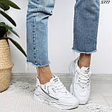 Кроссовки женские белые 5777, фото 8