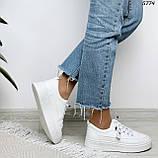 Кроссовки женские белые 5774, фото 2