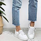 Кроссовки женские белые 5774, фото 6