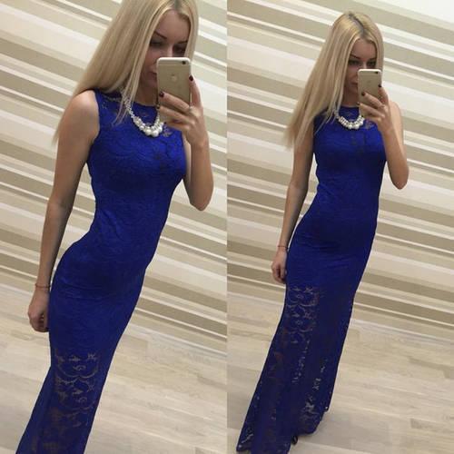 Гипюровое платье с прозрачным низом