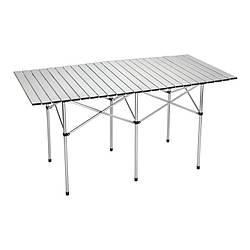 Стіл складаний туристичний SKIF Outdoor Comfort L (1400х700х700мм), алюміній