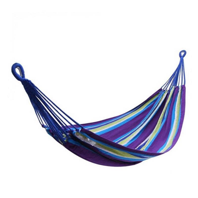 Гамак KingCamp Canvas Наммоск (2000х1500мм), фіолетовий