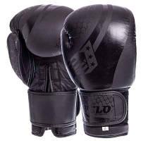 Перчатки боксерские кожаные на липучке VELO VL-2224 (р-р 10-14oz, цвета в ассортименте) Код VL-2224