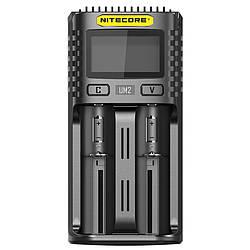 Зарядний пристрій Nitecore UM2 (2 канали)