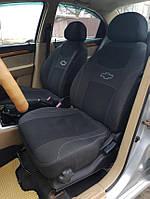 Чехлы на сиденья автомобиля LADA 2110 sedan 1995- (СИНЯЯ) задняя спинка 1/2 1/2; подлокотник; 4 подголовника., фото 1