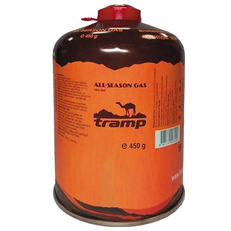 Балон газовий Tramp TRG-002 з різьбовим з'єднанням (450г), всесезонний