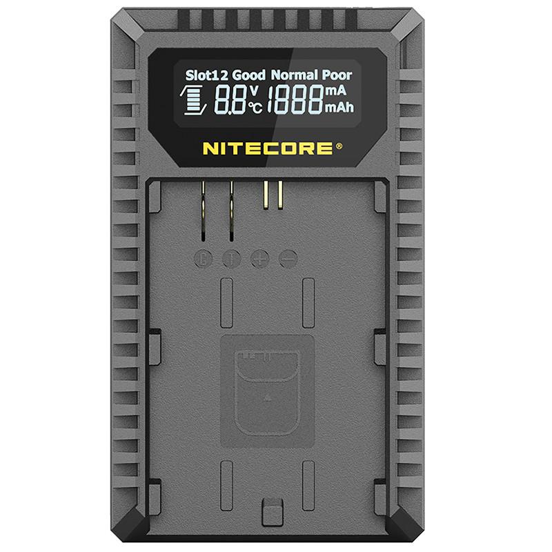 Зарядное устройство Nitecore UCN3 для аккумуляторов Canon (LP-E6N)
