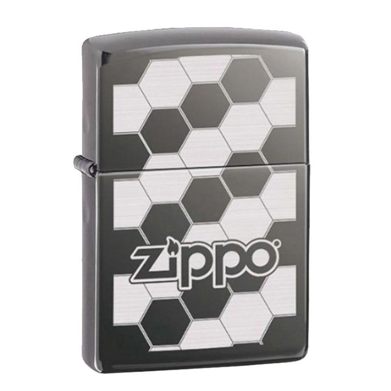 Запальничка Zippo Honeycomb Black Ice, 324680