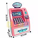 Детский сейф банкомат с отпечатком пальца и кодовым замком Frozen Фроузен на английском, фото 6