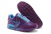 Кроссовки женские Nike Air Max 90 GL (найк аир макс) фиолетовые