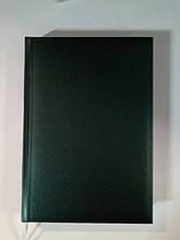 Ежедневник недатированный А5 3В- 43  Metaphor зеленый 176 листов ф-142х203 мм.