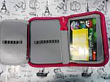 Школьный пенал    для девочки, Барби(1 отдел + 2 отворота), фото 2