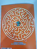 Раскраска детская А5 для девочек Шимер и Шайн белый фон лабиринт наклейки  RASK13ш, фото 2