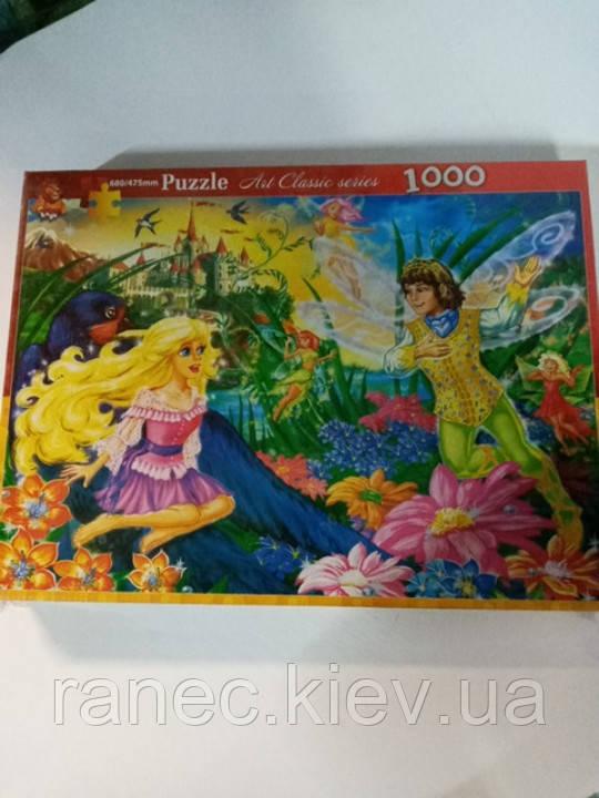 Пазл 1000 деталей Сказка Дьюмовочка 47,5х68 см , арт. 0433-11 Danko Toys