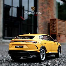 Модель автомобіля Maisto Lamborghini Urus з металу 1:24. Металева машинка Lamborghini Urus, фото 2