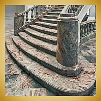 Лестницы из натурального камня.