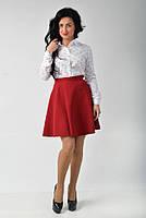 Стильная юбка полусолнцеклеш, фото 1