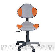 Комплект для девочки растущая парта Cubby Fressia Pink + компьютерное кресло FunDesk LST3 Orange-Grey, фото 2