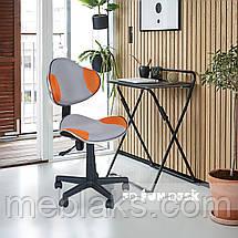 Комплект для девочки растущая парта Cubby Fressia Pink + компьютерное кресло FunDesk LST3 Orange-Grey, фото 3
