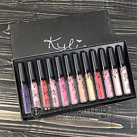 Помада Kylie набор жидких матовых губных помад Кайли Кайлі