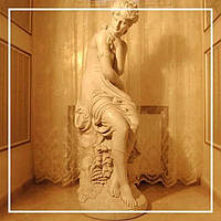Поговорим о скульптурах.
