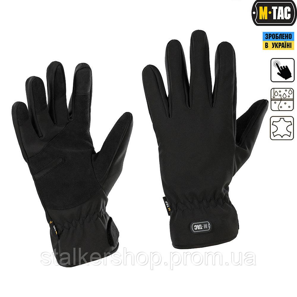 Перчатки зимние Tactical Waterproof Black, M-Tac