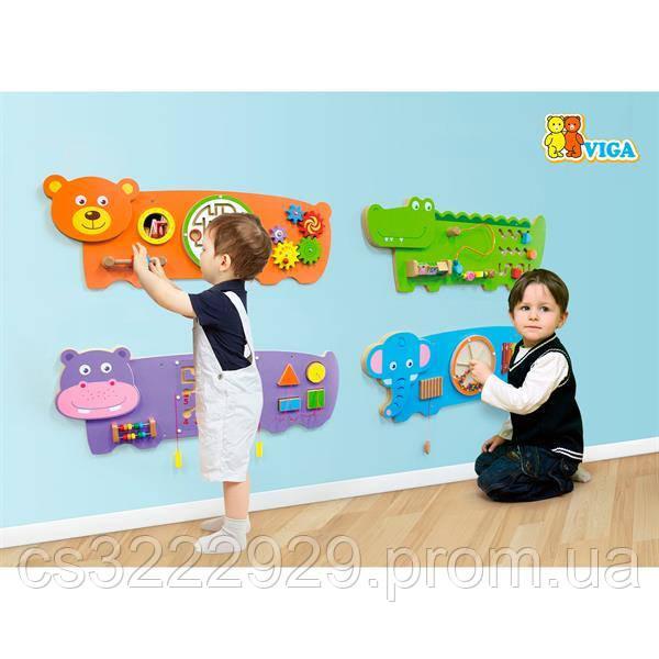 Бизиборд Viga Toys Слоненя (50472FSC)
